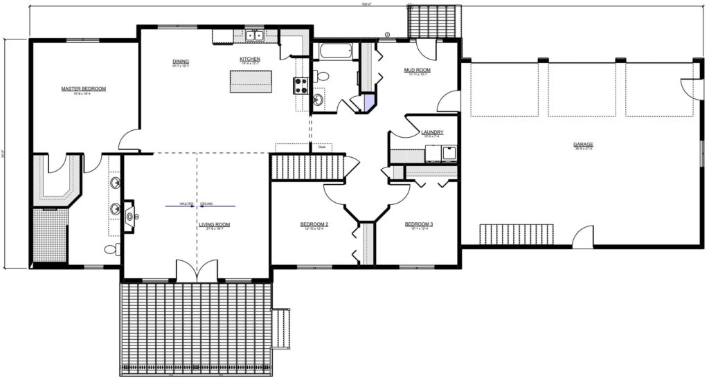 Myers RTM Floor Plan for Homeowners near Manitoba