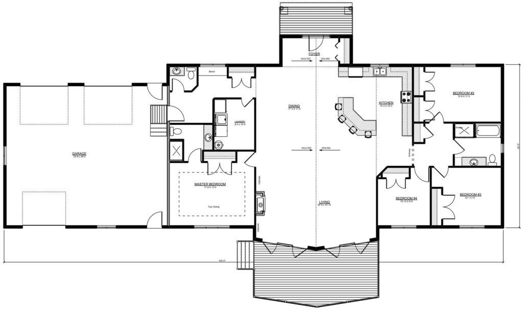 Vasichek Ready to Move housing Floor Plan for Homeowners near Manitoba
